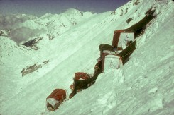 Whillans- box tents from camp 4