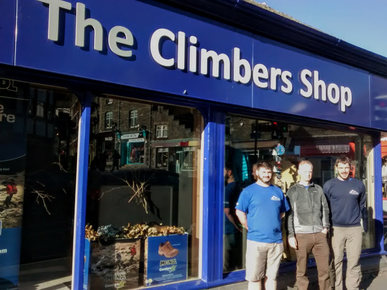 The Climbers Shop Team